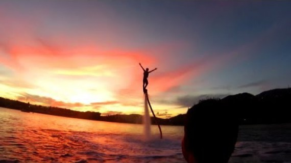 Epic Fly Boarding!